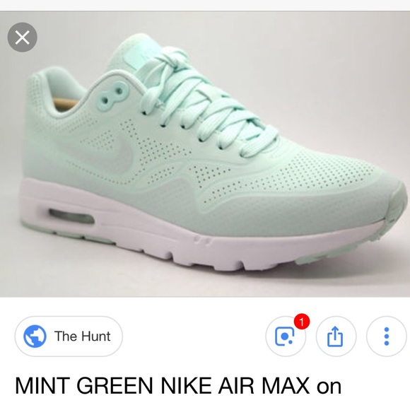 Nike air max ultra moire in mint green